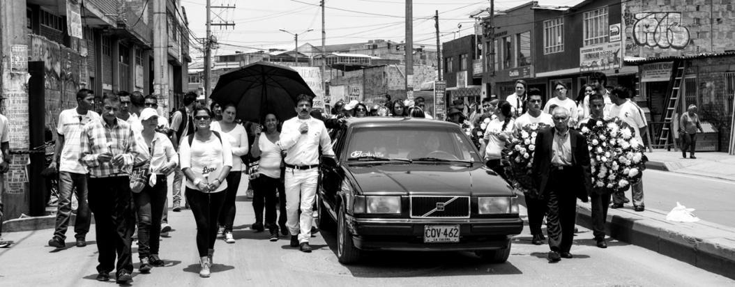 Funeral Klaus Zapata