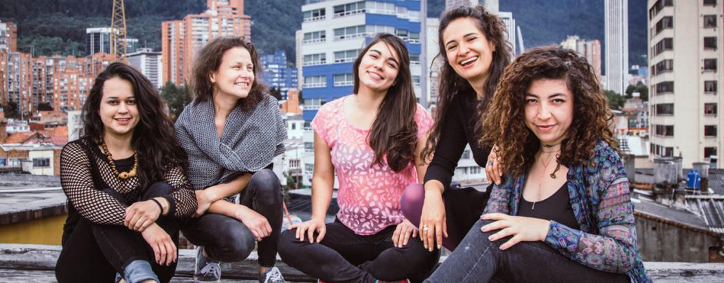Estudiosas del folclor y de los aires musicales del caribe colombiano