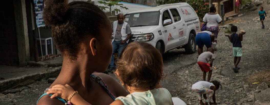 médicos sin fronteras colombia