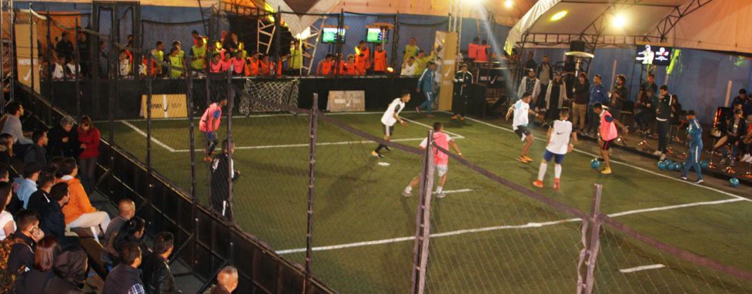Torneo 3 Vs 3 de Nike Street football