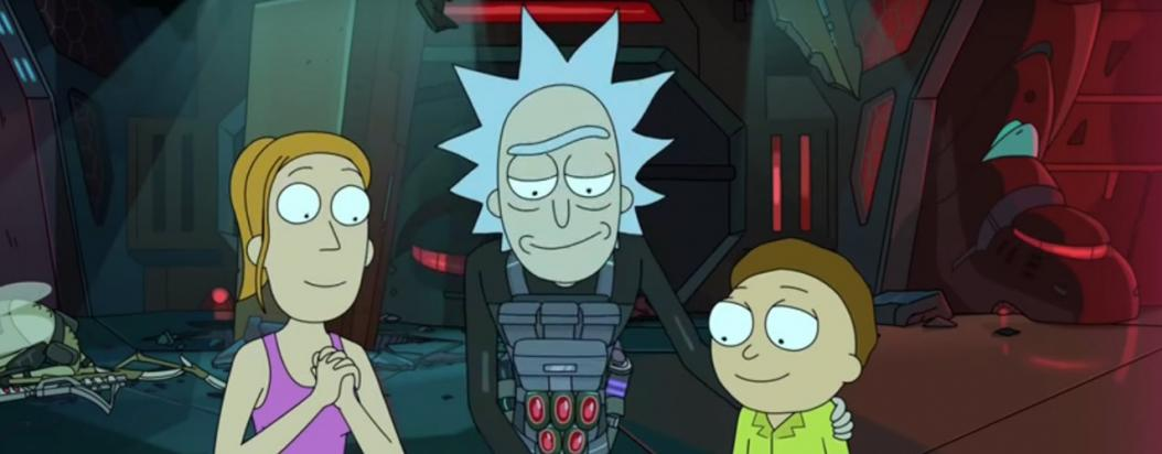 Miguel Otálora y su toque clásico en Rick and Morty