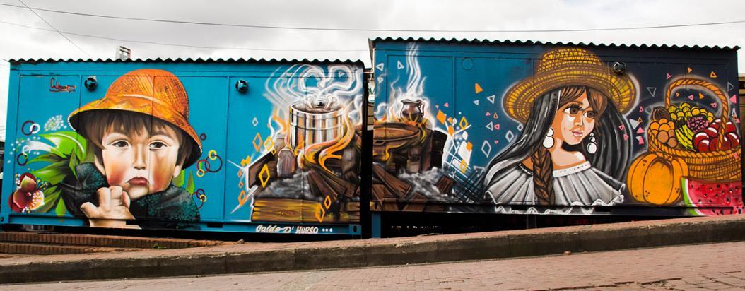 mesa distrital de grafiti bogota