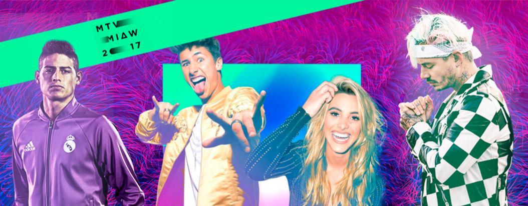 La cuota colombiana en los premios MTV MIAW 2017