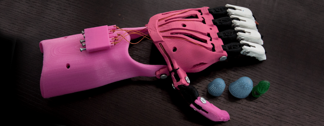 Impresoras 3D para prótesis de extremidades superiores 1