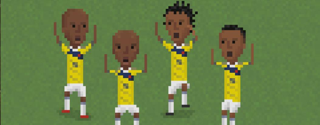 El fútbol pixelado de Matheus Toscano