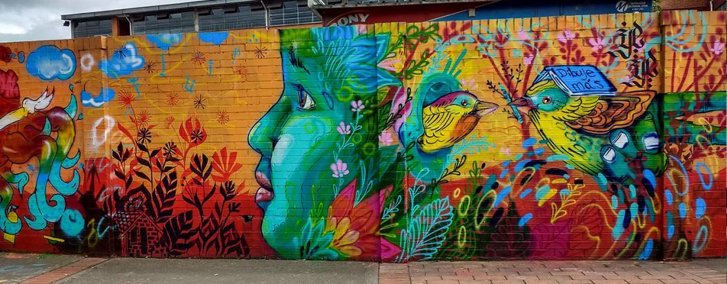Atrapasueños Tikkun 2: la pedagogía con arte urbano se toma un colegio de Suba