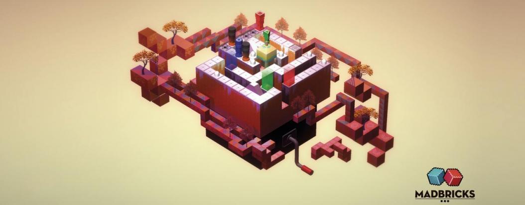 Un nivel de Ekko, el videojuego de Mad Bricks