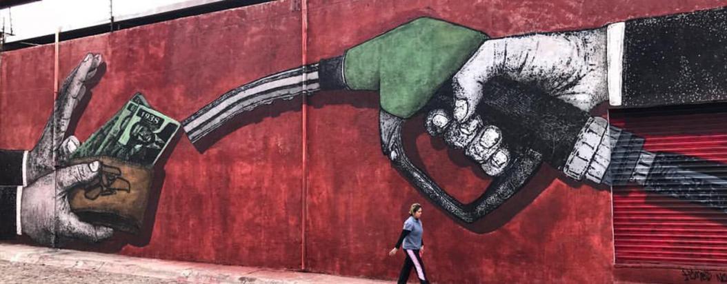 Himed y Reyben, esténcil mexicano contra la injusticia social
