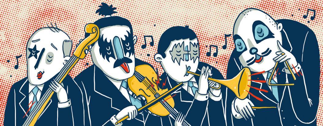 Resultado de imagen de sinfonia rockera