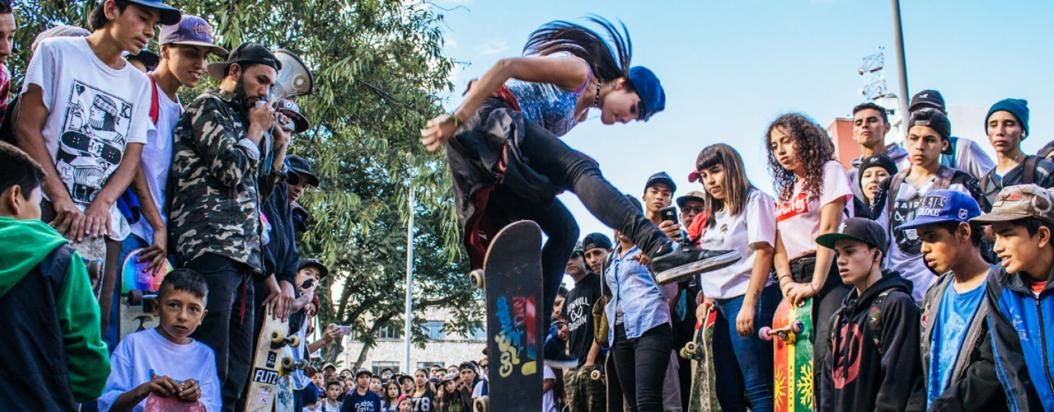 Testimonios de patinetos bogotanos durante el día del skate
