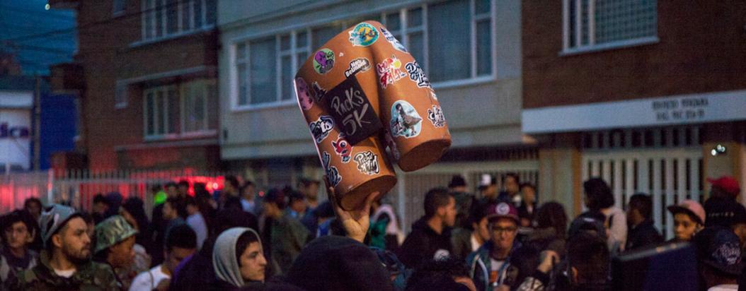 Primera edición del 'Tome pa' que pegue' en Bogotá