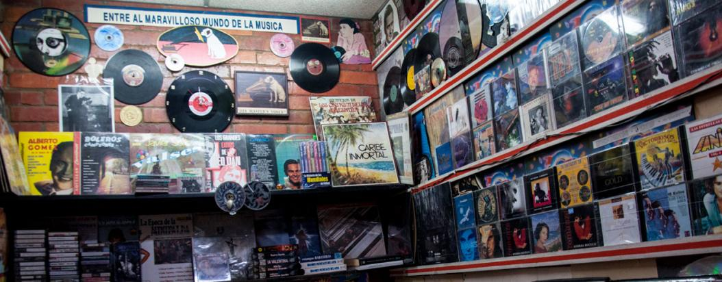 Tiendas de vinilos en Bogotá