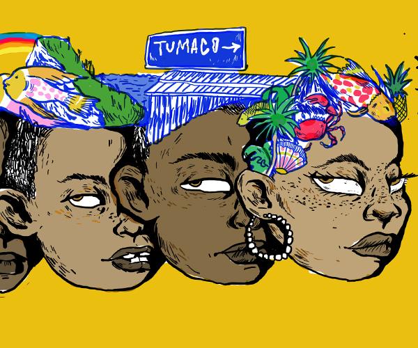 Jóvenes de San Andrés de Tumaco