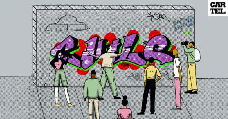 Arte callejero en la academia chilena