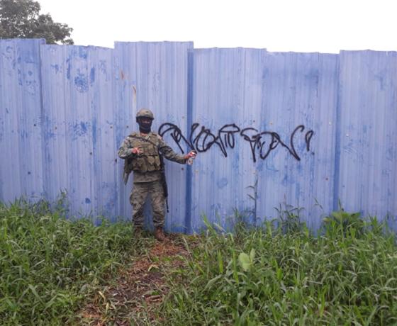 Entre el chapeteo pandillero y el estudio de la gráfica urbana en Guayaquil