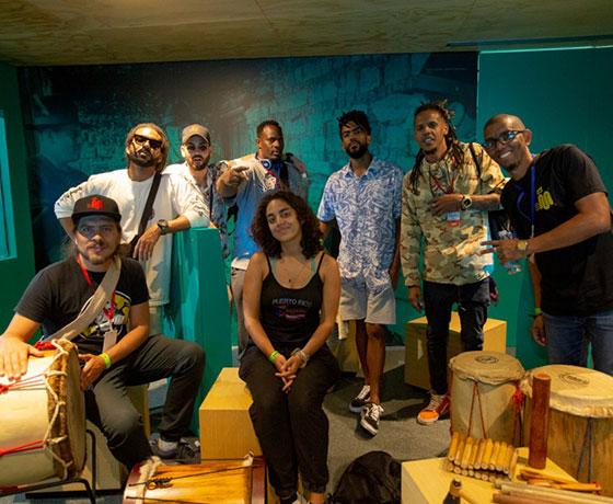 Cubanos Sala Musica Melah Cartel Urbano