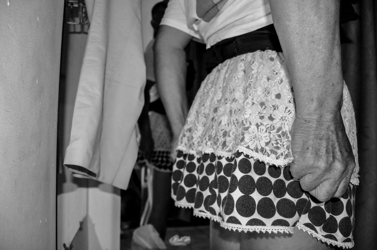 Relatos de hombres vestidos de mujer