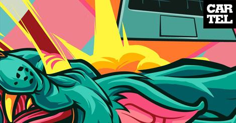 Gif Graffiti: El arte de regalar by Z