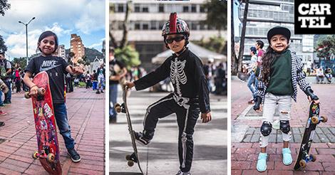 niños skate bogotá