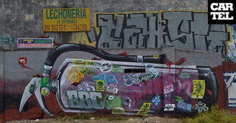 Los ocho años de Bosa Boys y su grafiti comunitario