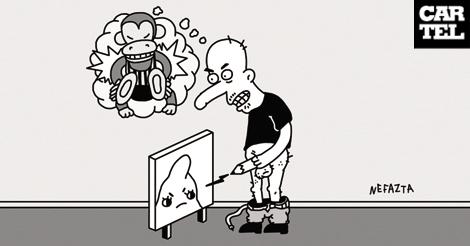 Matador, la caricatura es usted
