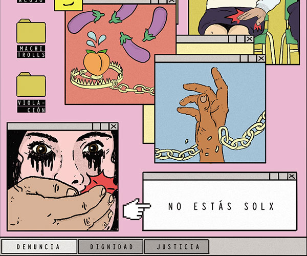 """""""Si no hay justicia, hay escrache"""" Cartel Urbano"""
