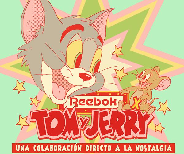 La nostalgia de Tom & Jerry aterriza en la nueva colección de Reebok