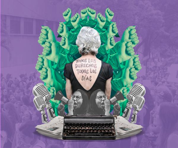 """Periodistas y feministas: """"Queremos convertir la voz en un espacio de disputa"""""""