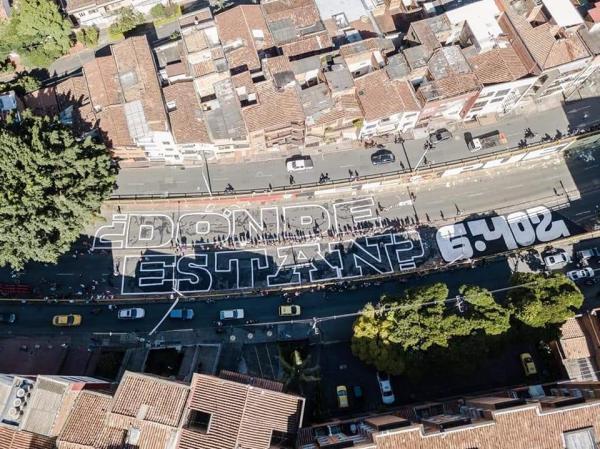 ¿De quién es la calle?: pintura callejera y censura en el Paro Nacional