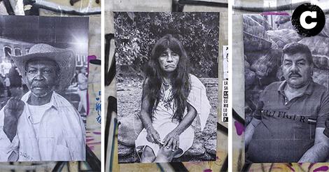 Voyeur, una mirada del paro nacional desde el cartelismo y la fotografía experimental