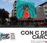 'Haciendo Calle', una bienal con las mejores intervenciones digitales sobre los muros de Guayaquil