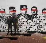 muro militar cartel urbano