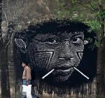 Nazza Stencil: entre las plantillas y el activismo social y político